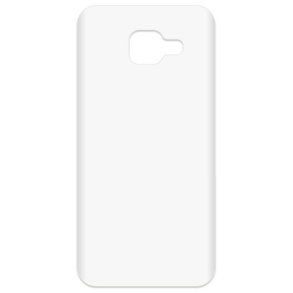 Аксессуар Чехол-накладка Krutoff TPU для Samsung Galaxy A3 2016 SM-A310F Transparent 11945 сотовый телефон samsung sm a310f ds galaxy a3 2016 white