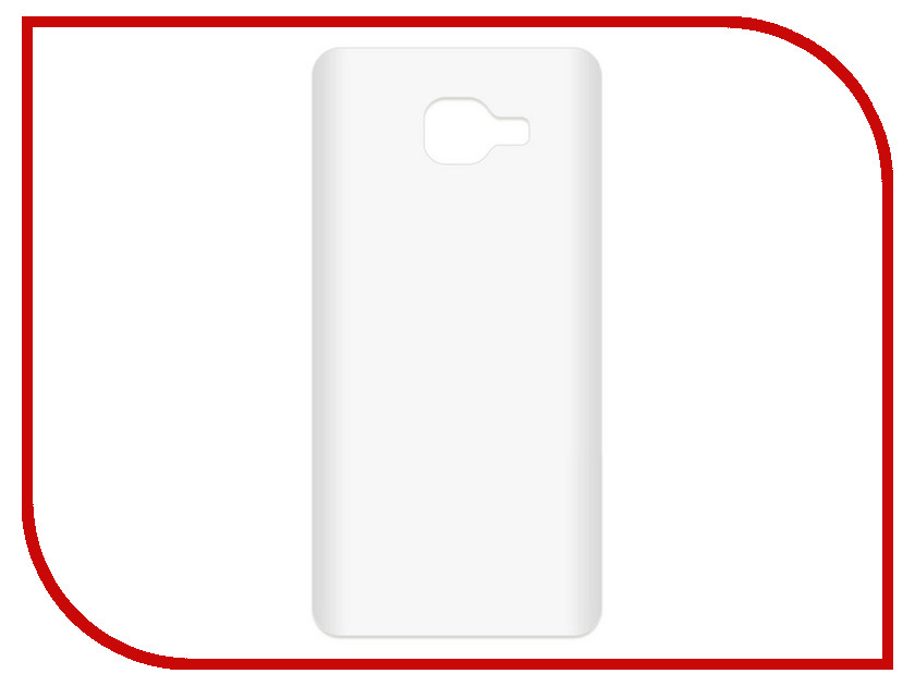 Аксессуар Чехол-накладка для Samsung Galaxy A5 2016 SM-A510F Krutoff TPU Transparent 11946 protective pc tpu back case cover w stand for samsung galaxy note 4 transparent white