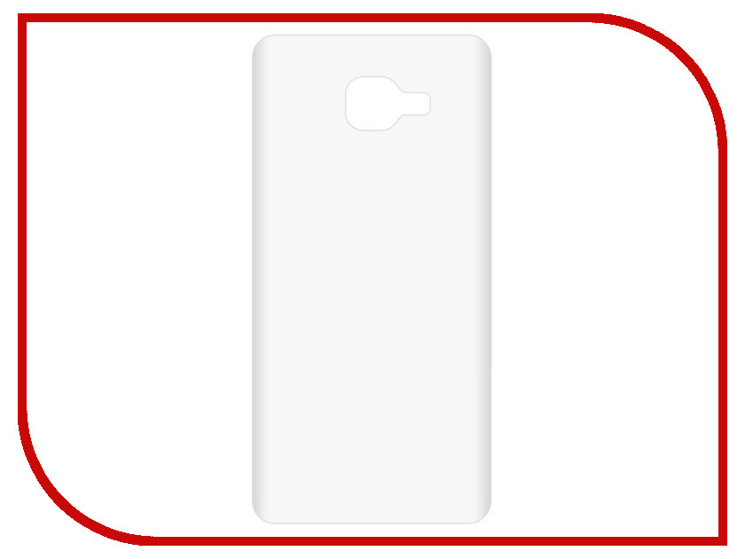 Аксессуар Чехол-накладка Samsung Galaxy A7 2016 SM-A710F Krutoff TPU Transparent 11947 аксессуар защитная пленка samsung galaxy a7 2016 krutoff матовая 20273