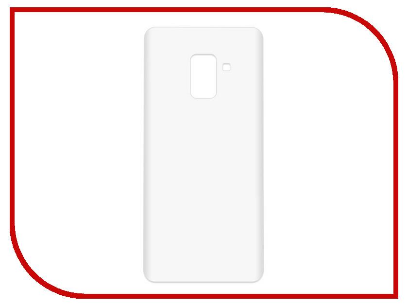 Аксессуар Чехол-накладка для Samsung Galaxy A8 SM-A530F Krutoff TPU Transparent 11948 аксессуар чехол samsung galaxy core 2 sm g355 krutoff transparent 11473