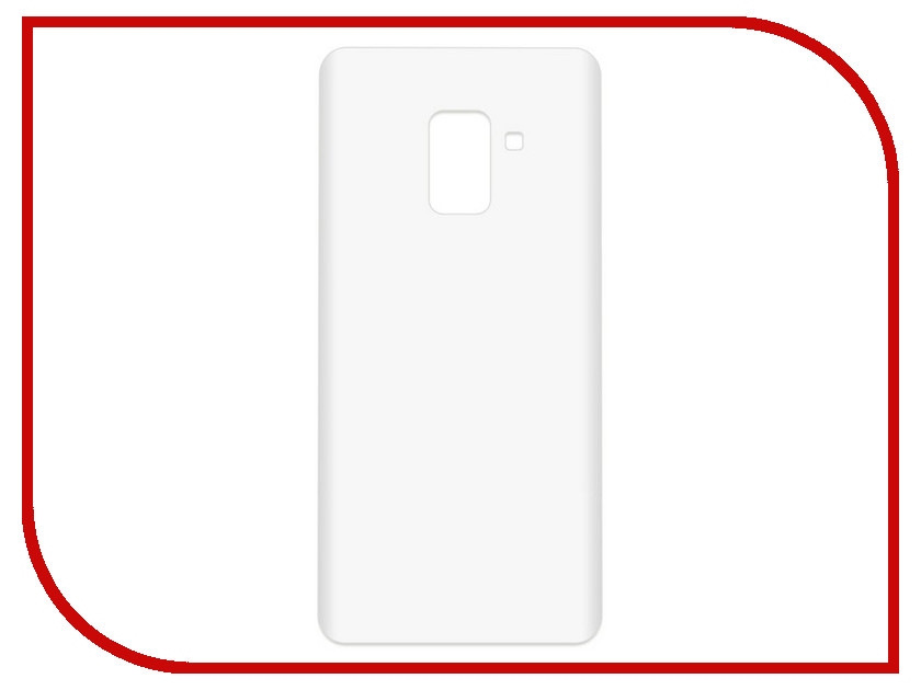 Аксессуар Чехол-накладка для Samsung Galaxy A8+ SM-A730F Krutoff TPU Transparent 11949 protective pc tpu back case cover w stand for samsung galaxy note 4 transparent white