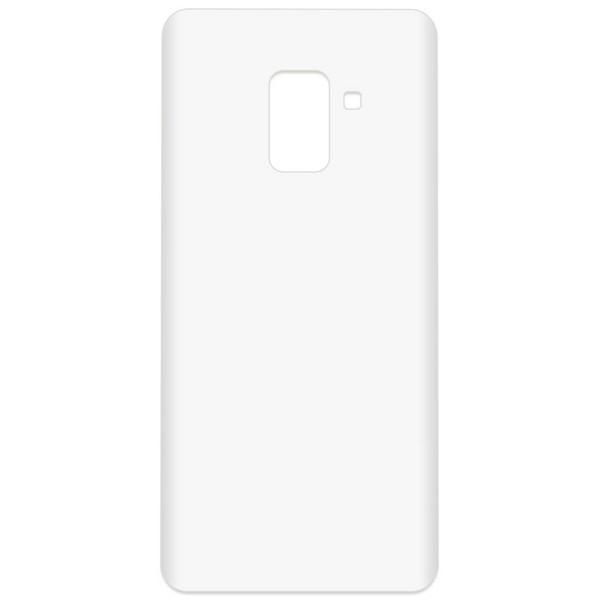 Аксессуар Чехол-накладка Krutoff TPU для Samsung Galaxy A8+ SM-A730F Transparent 11949