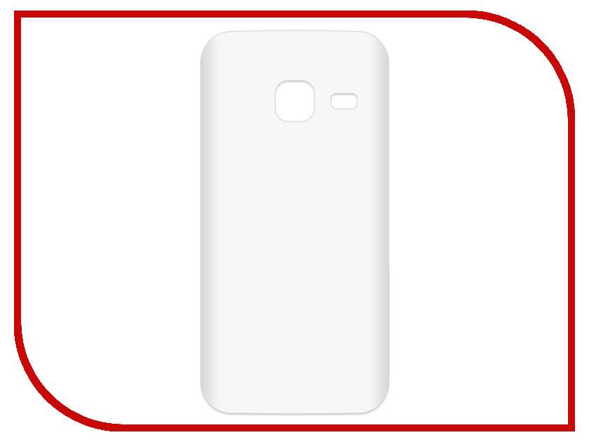 Аксессуар Чехол-накладка Samsung Galaxy J1 mini SM-J105H Krutoff TPU Transparent 11951
