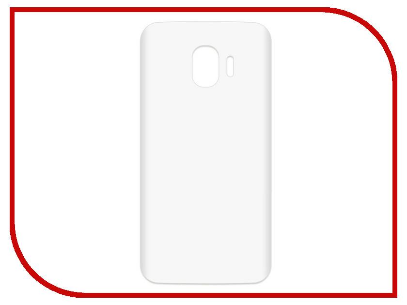 Аксессуар Чехол-накладка для Samsung Galaxy J2 2018 SM-J250F Krutoff TPU Transparent 11953 аксессуар чехол samsung galaxy core 2 sm g355 krutoff transparent 11473