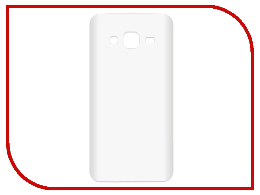 Аксессуар Чехол-накладка для Samsung Galaxy J3 2016 SM-J310 Krutoff TPU Transparent 11955 аксессуар чехол для samsung sm j330 galaxy j3 2017 activ the ultimate experience leather red 75635