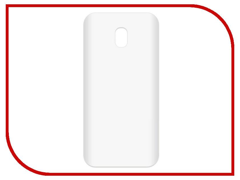 Аксессуар Чехол-накладка для Samsung Galaxy J3 2017 SM-J330 Krutoff TPU Transparent 11956 аксессуар чехол samsung galaxy core 2 sm g355 krutoff transparent 11473