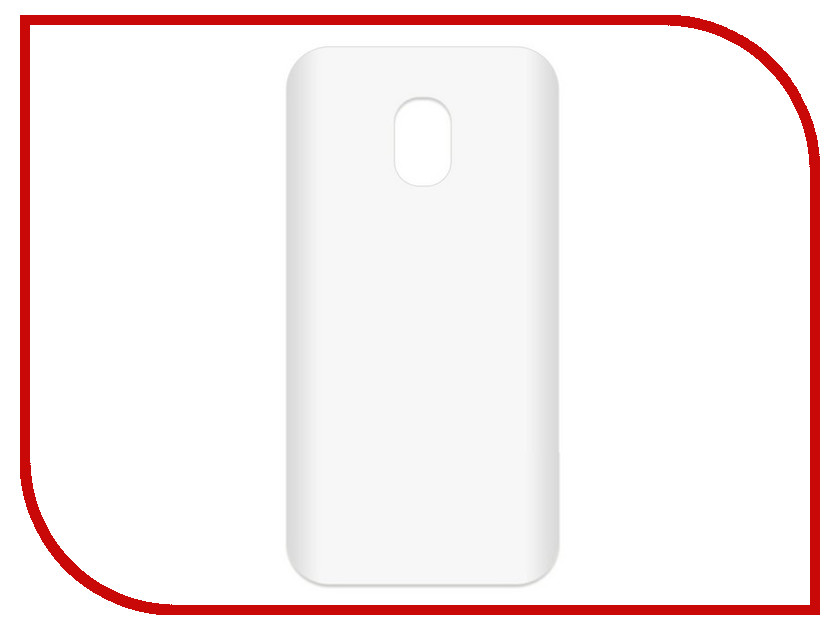 Аксессуар Чехол-накладка для Samsung Galaxy J4 2018 SM-J400F Krutoff TPU Transparent 11978 protective pc tpu back case cover w stand for samsung galaxy note 4 transparent white