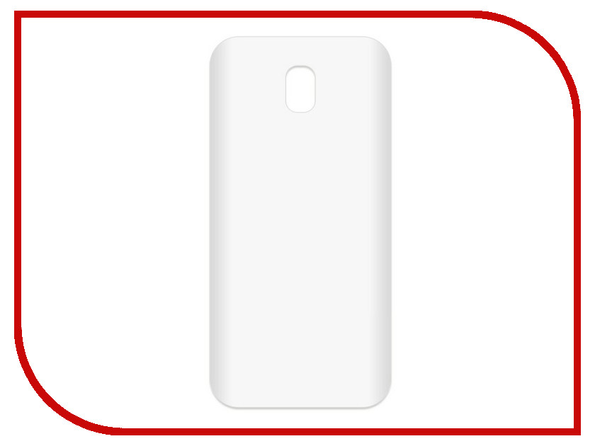 Аксессуар Чехол-накладка для Samsung Galaxy J5 2017 SM-J530 Krutoff TPU Transparent 11958 аксессуар чехол samsung galaxy core 2 sm g355 krutoff transparent 11473