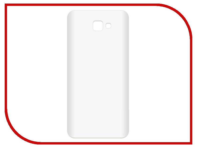 Аксессуар Чехол-накладка для Samsung Galaxy J5 Prime SM-G570F Krutoff TPU Transparent 11959 аксессуар чехол samsung galaxy core 2 sm g355 krutoff transparent 11473