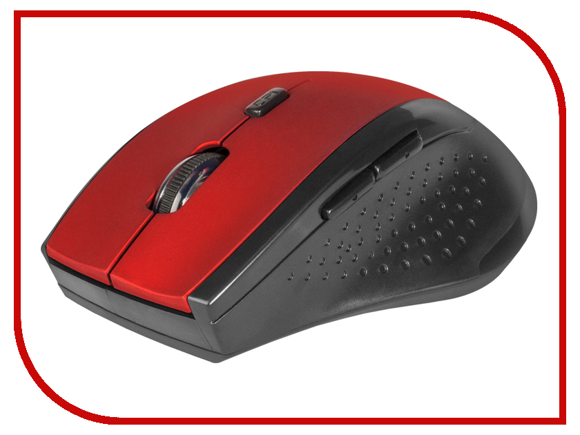 Мышь Defender Accura MM-365 Red 52367 мышь defender accura mm 665 red 52668