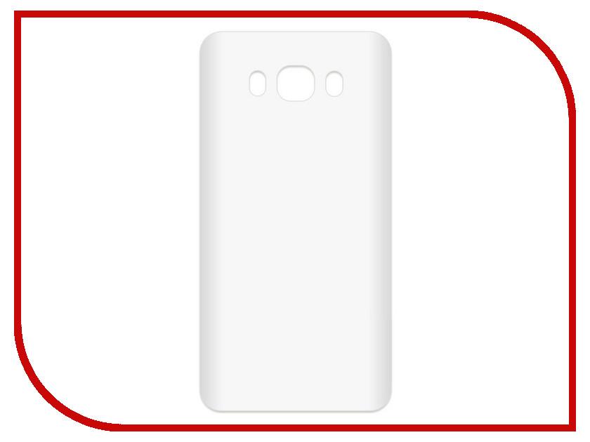 Аксессуар Чехол-накладка для Samsung Galaxy J7 2016 SM-J710 Krutoff TPU Transparent 11960 аксессуар чехол samsung galaxy core 2 sm g355 krutoff transparent 11473