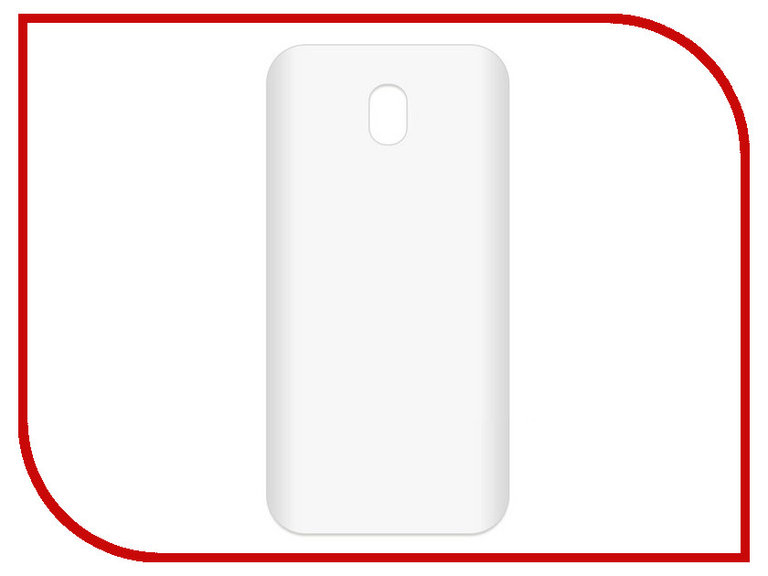 Аксессуар Чехол-накладка для Samsung Galaxy J7 2017 SM-J730 Krutoff TPU Transparent 11961 protective pc tpu back case cover w stand for samsung galaxy note 4 transparent white