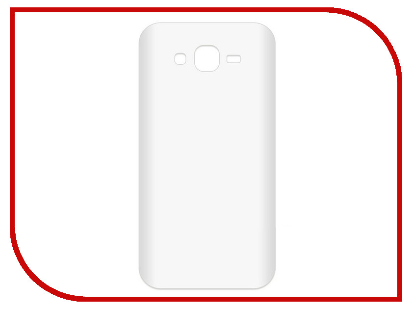 Аксессуар Чехол-накладка для Samsung Galaxy J7 Neo SM-G701F Krutoff TPU Transparent 11962 protective pc tpu back case cover w stand for samsung galaxy note 4 transparent white