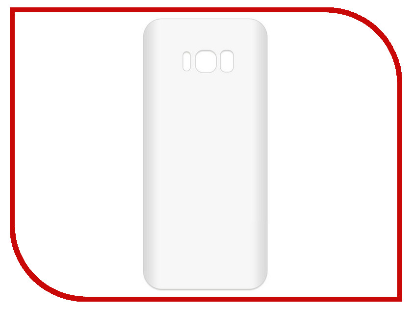 Аксессуар Чехол-накладка для Samsung Galaxy S8+ SM-G955F Krutoff TPU Transparent 11964 protective pc tpu back case cover w stand for samsung galaxy note 4 transparent white
