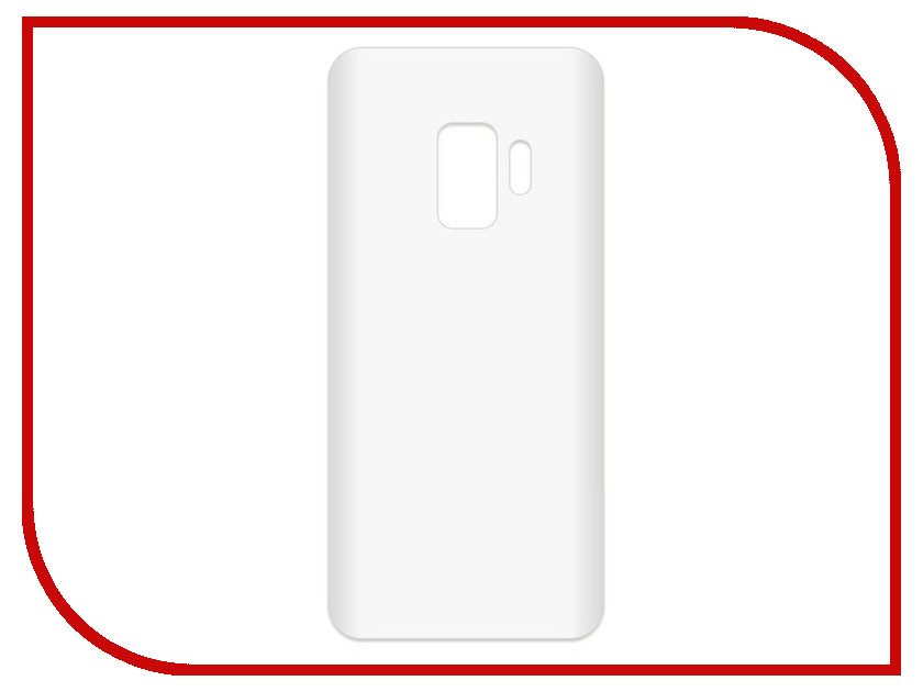 Аксессуар Чехол-накладка для Samsung Galaxy S9 SM-G960F Krutoff TPU Transparent 11965 protective pc tpu back case cover w stand for samsung galaxy note 4 transparent white