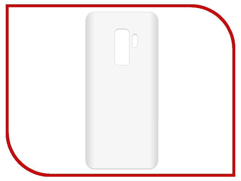 Аксессуар Чехол-накладка для Samsung Galaxy S9+ SM-G965F Krutoff TPU Transparent 11966 protective pc tpu back case cover w stand for samsung galaxy note 4 transparent white