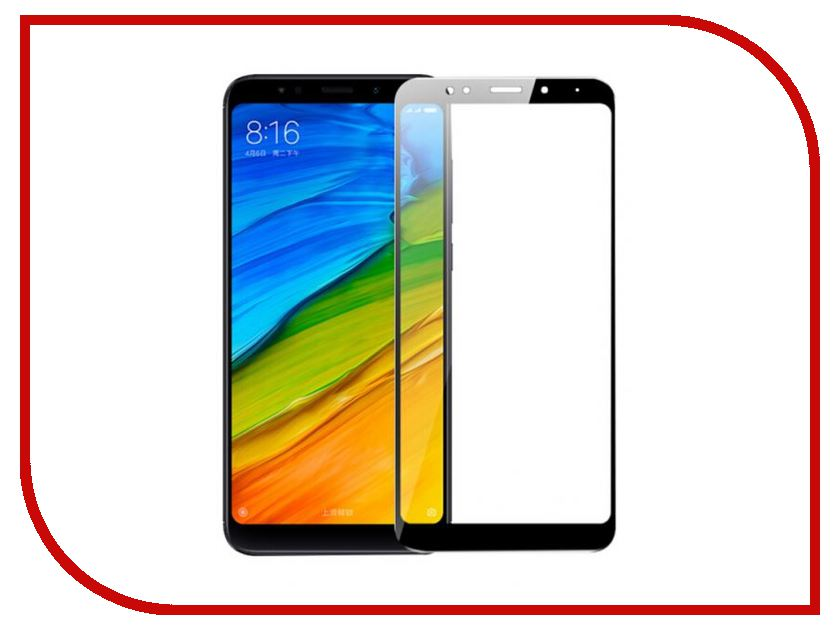 Аксессуар Защитное стекло для Xiaomi Redmi 5 Plus CaseGuru 0.33mm Glue Full Screen Black 102812 pyramida f 62 tix