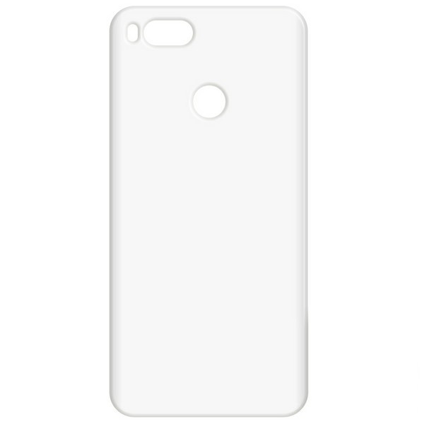 Чехол-накладка Krutoff для Xiaomi Mi A1 TPU Transparent 11968