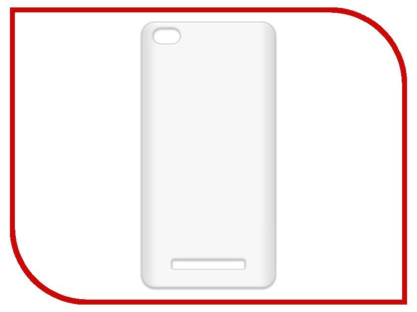 Аксессуар Чехол-накладка Xiaomi Redmi 4A Krutoff TPU Transparent 11970 аксессуар чехол xiaomi redmi 4 onext silicone transparent 70500