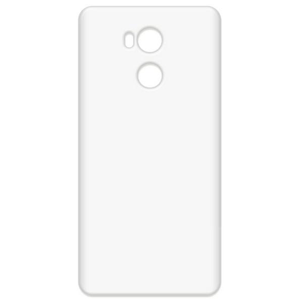 купить Аксессуар Чехол-накладка Krutoff для Xiaomi Redmi 4S/4 Pro/4 Prime TPU Transparent 11969 дешево
