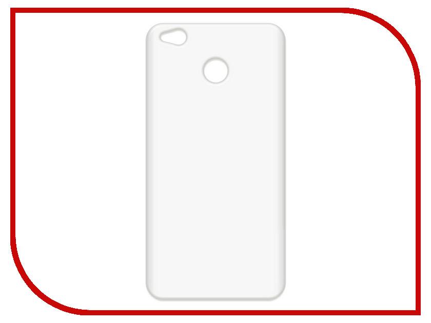 Аксессуар Чехол-накладка для Xiaomi Redmi 4X Krutoff TPU Transparent 11971 аксессуар чехол для xiaomi redmi s2 ibox crystal transparent