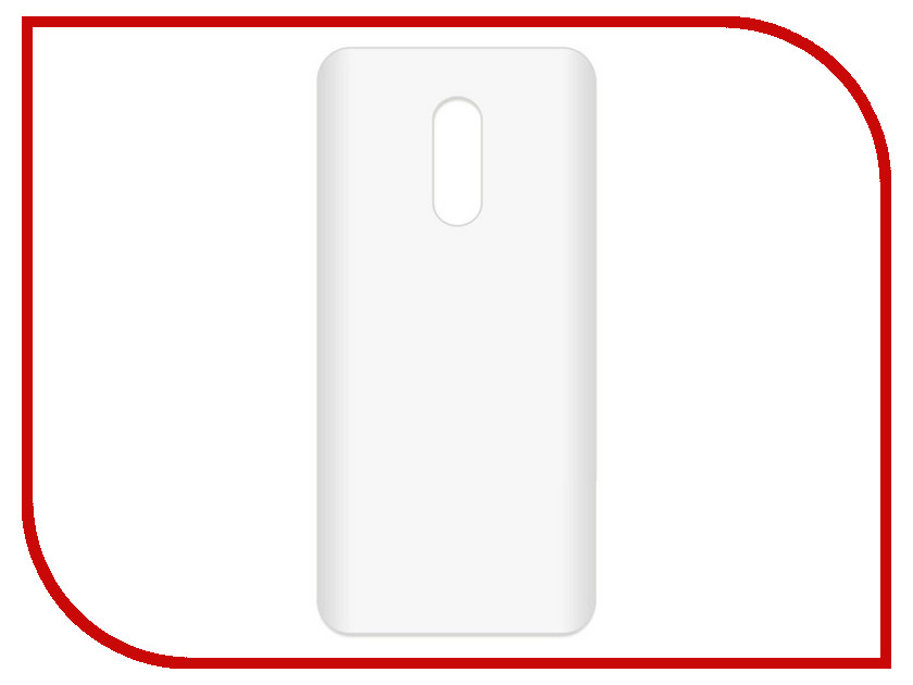 Аксессуар Чехол-накладка для Xiaomi Redmi 5+ Krutoff TPU Transparent 11976 original xiaomi redmi 6a transparent tpu solid phone case