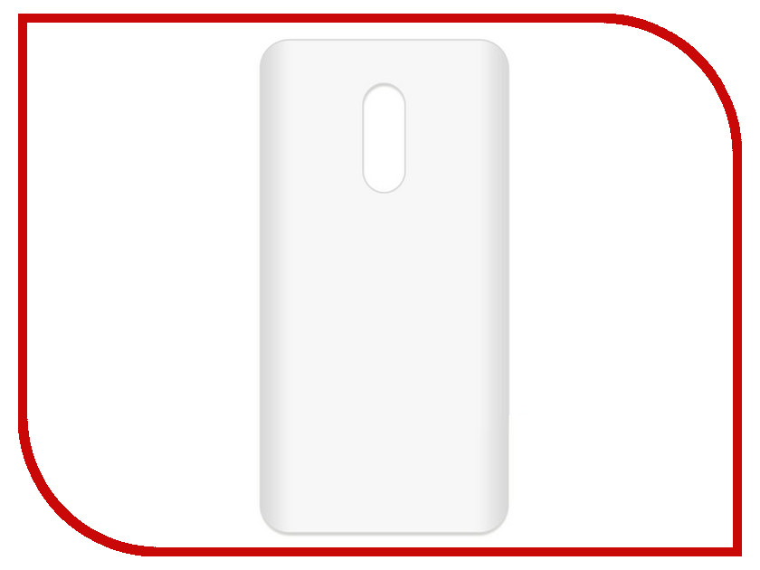 Аксессуар Чехол-накладка для Xiaomi Redmi Note 4 Krutoff TPU Transparent 11972 чехол книжка red line book type для xiaomi redmi 5 black