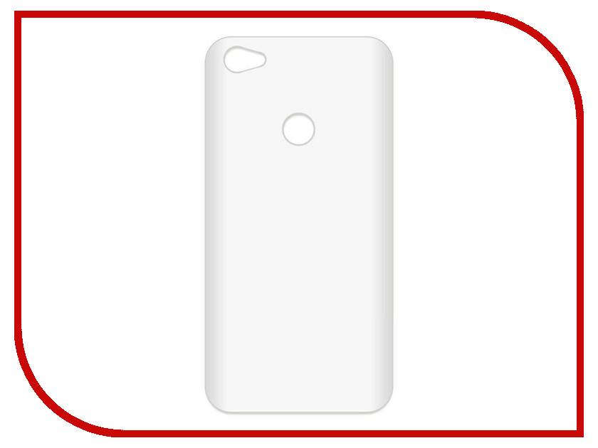 Аксессуар Чехол-накладка Xiaomi Redmi Note 5A Prime Krutoff TPU Transparent 11974 цена