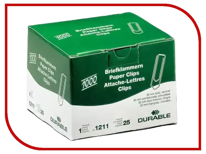 Cкрепки Durable 32mm 1000шт Galvanized 121125