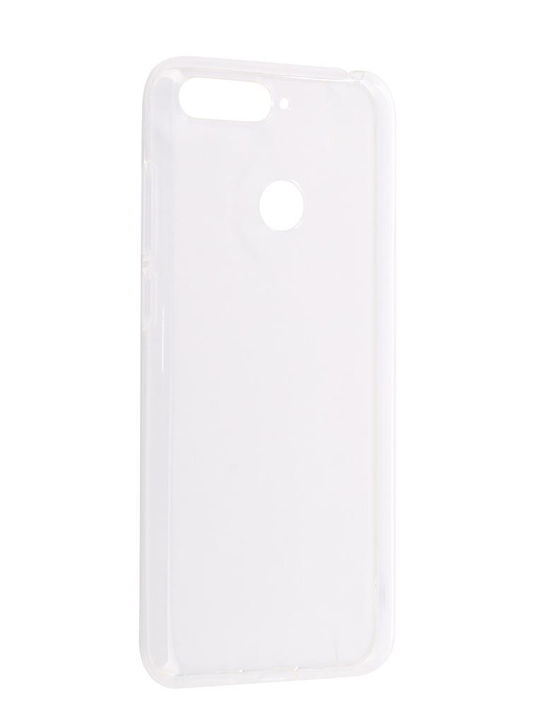 Аксессуар Чехол CaseGuru для Honor 7A Pro Silicon Liquid 102972 зарядное устройство ginzzu 4xusb 6a ga 4430ub