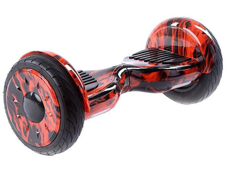 Гироскутер CarCam Smart Balance 10.5 Red Fire smart balance гироскутер
