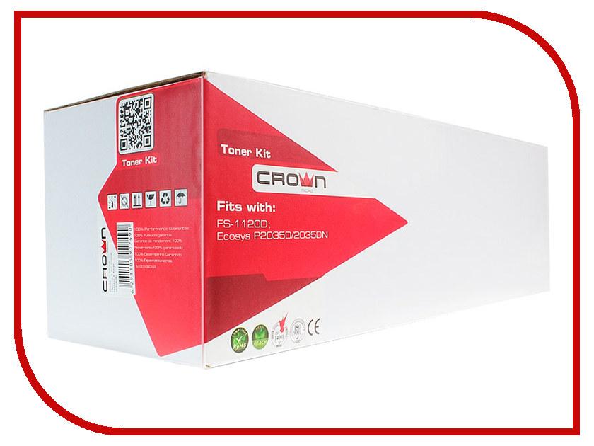 Картридж Crown CM-KM-TK-160 для FS-1120D/Ecosys P2035D/2035DN 2500к 400w crown cm ps400w