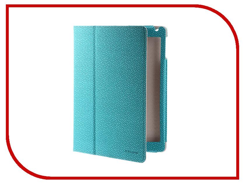 где купить Аксессуар Чехол для APPLE iPad 2017 9.7 IT Baggage Turquoise ITIP20172-6 дешево