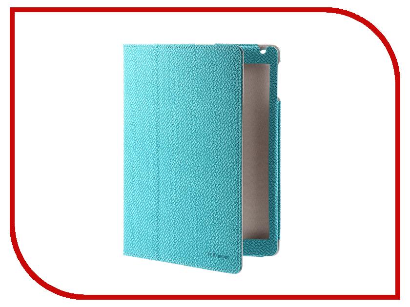 Аксессуар Чехол IT Baggage APPLE iPad Air 2 9.7 Turquoise ITIPAD52-6