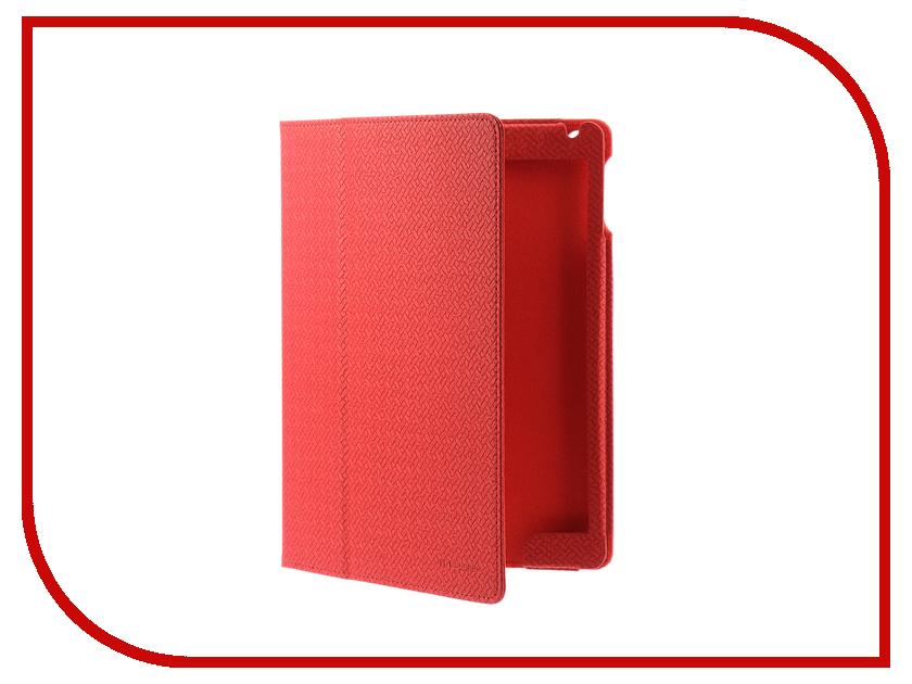 Аксессуар Чехол IT Baggage APPLE iPad Air 2 9.7 Red ITIPAD52-3