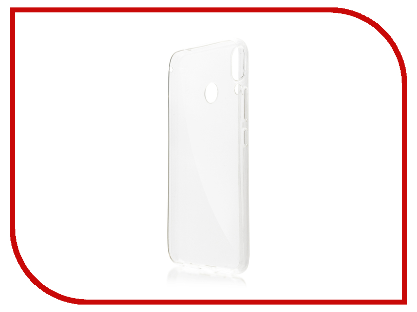 Аксессуар Чехол для ASUS ZenFone 5 ZE620KL BROSCO Silicone Transparent AS-ZF5-TPU-TRANSPARENT wt 036 transparent acrylic radiator silver transparent 200ml