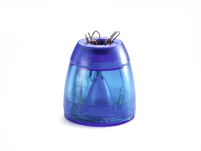 Фото - Подставка Durable Trend для скрепок Магнитная Transparent Blue 1709051540 подставка