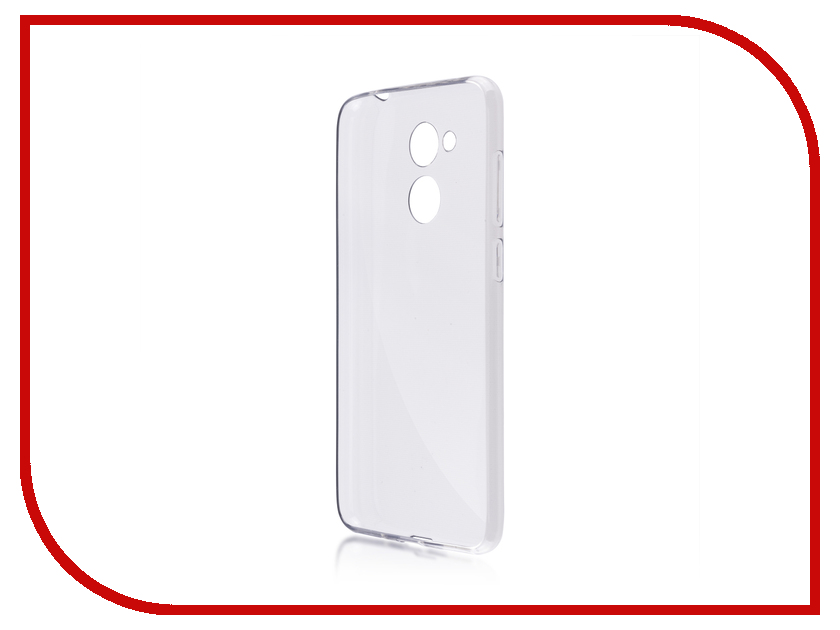 Аксессуар Чехол для Huawei Honor 6C Pro BROSCO Silicone Black HW-H6CP-TPU-BLACK mooncase s line soft flexible silicone gel tpu skin shell back чехолдля htc one m9 black