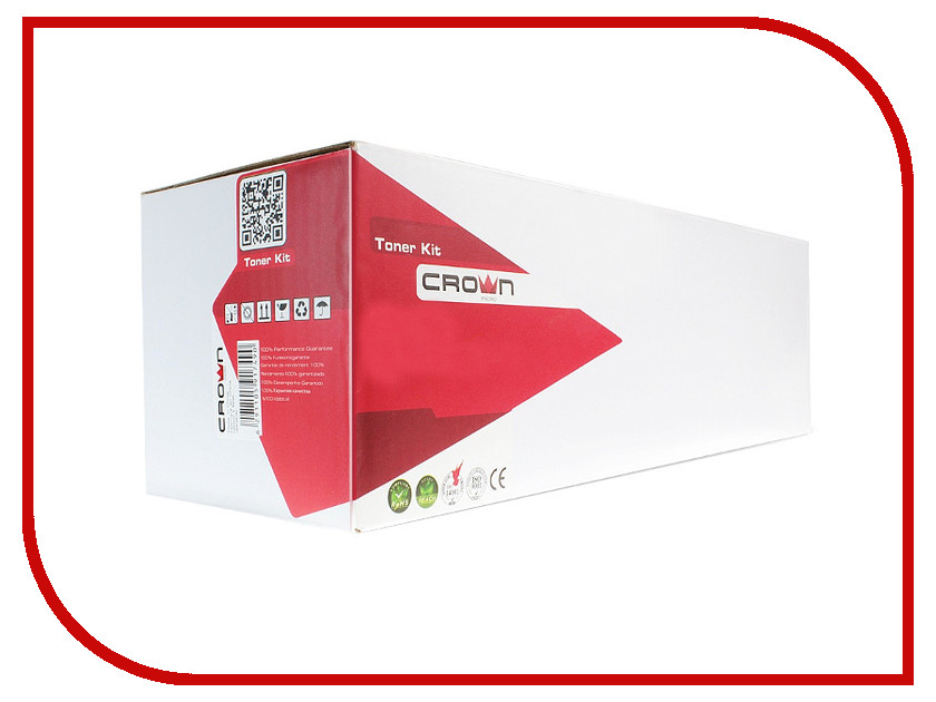 Картридж Crown CM-C410X Black для HP Pro 400 Color M451dn/M451dw/M451nw/MFP M475dn/M475dw/Pro 300 Color M351a/MFP M375nw