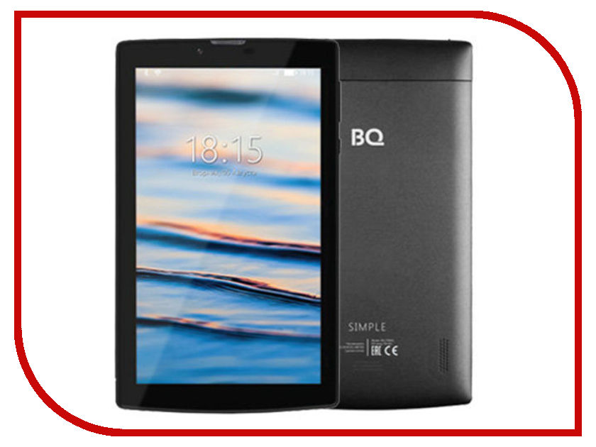 Планшет BQ BQ-7084G Simple (Spreadtrum SC7731c 1.2 GHz/1024Mb/8Gb/Wi-Fi/3G/Bluetooth/GPS/Cam/7.0/1024x600/Android) планшет bq 7008g 3g violet