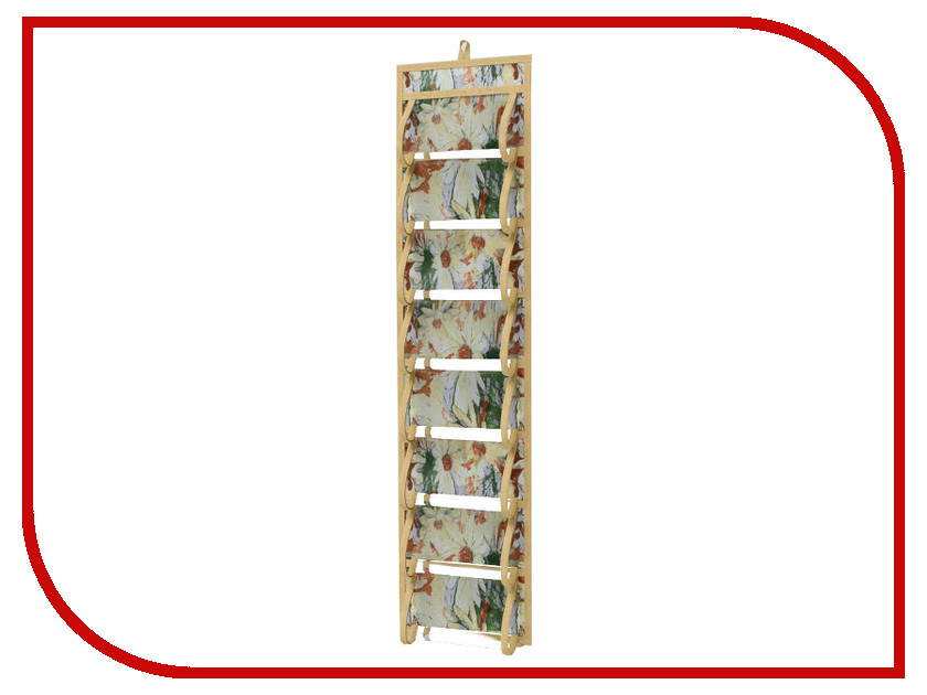 Аксессуар Кофр для колготок и мелочей Cofret 20x80cm Двусторонний 16 карманов 1810