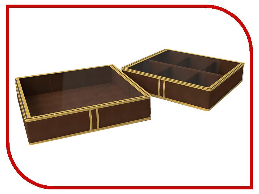 Аксессуар Короб для обуви Cofret 56x52x12cm 6 ячеек 1537