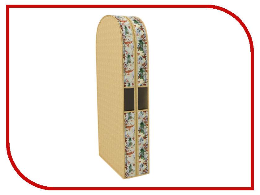 Аксессуар Чехол для одежды Cofret 60x130x20cm Двойной 1804 щетки для одежды дерево счастья щетка для одежды