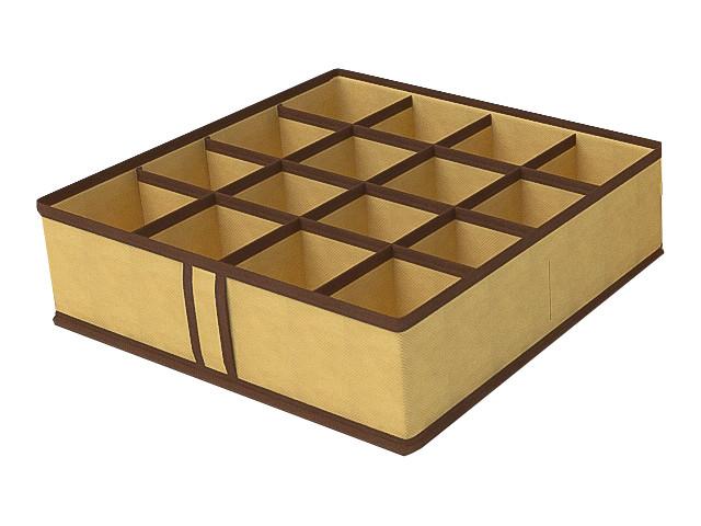 Аксессуар Чехол для мелочей Cofret 35x35x10cm 16 ячеек 1422