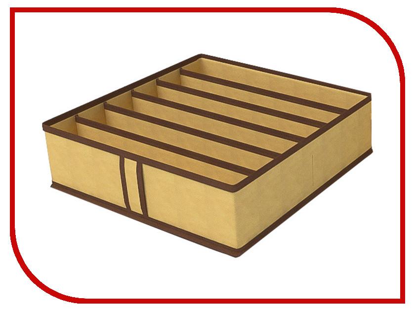 Аксессуар Чехол для бюстгалтеров Cofret 35x35x10cm 6 ячеек 1423