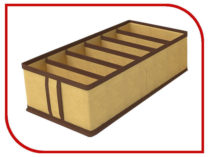 Аксессуар Чехол для нижнего белья Cofret 35x16x10cm 6 ячеек 1424