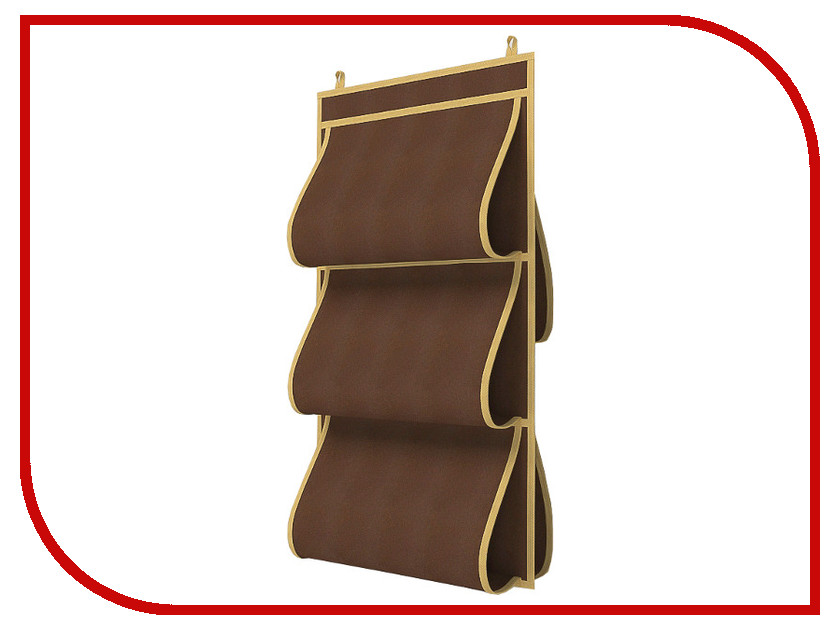 Аксессуар Кофр для сумок Cofret 40x70cm Двусторонний 5 карманов 1509 cofret кофр для хранения классик цвет черный 30х35х45 см