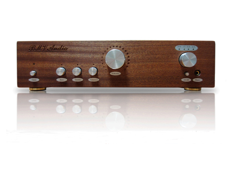 Усилитель BMV Audio ATMF-1006 Beech с темброблоком