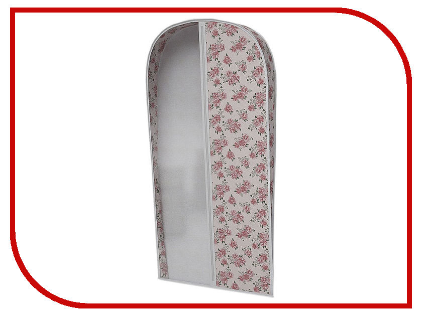 Аксессуар Чехол для одежды Cofret 60x100x10cm Объемный 0117 щетки для одежды дерево счастья щетка для одежды
