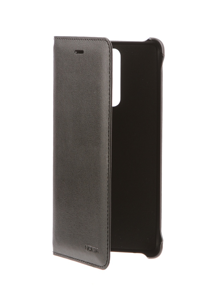 Чехол для Nokia 8 Soft Leather Flip Cover Black CP-801 1A21PR500VA